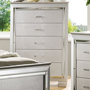 Rosdorf Park Bokan Lake 5 Drawer Chest