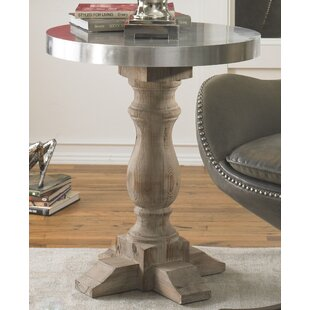 Compare prices Aureliana End Table by Gracie Oaks