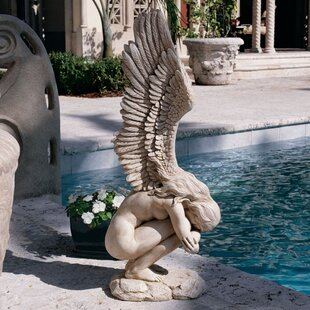 Rememberance And Redemption Angel Garden Statue