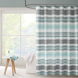 Lucio Stripe Single Shower Curtain