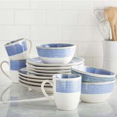 Photo of Blue & White Dinnerware