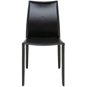 Sienna Genuine Leather Upholstered Dining Chair by Nuevo