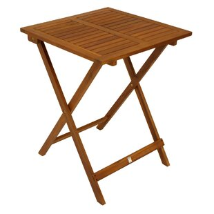 Kain Folding Wooden Bistro Table By Sol 72 Outdoor