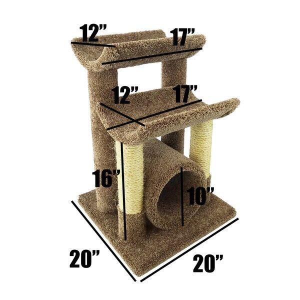 New Cat Condos 29 Quot Premier Cat Tree Amp Reviews Wayfair
