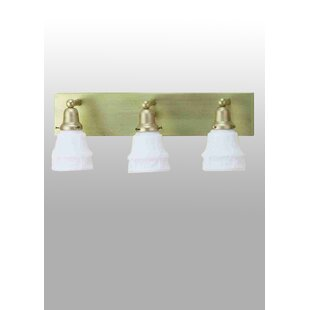 Meyda Tiffany Revival Oyster Bay Garland 3-Light Vanity Light