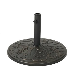 Lincolnwood Outdoor Concrete Free Standing Umbrella Base