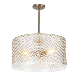 Everly Quinn Lapinski 3-Light Pendant
