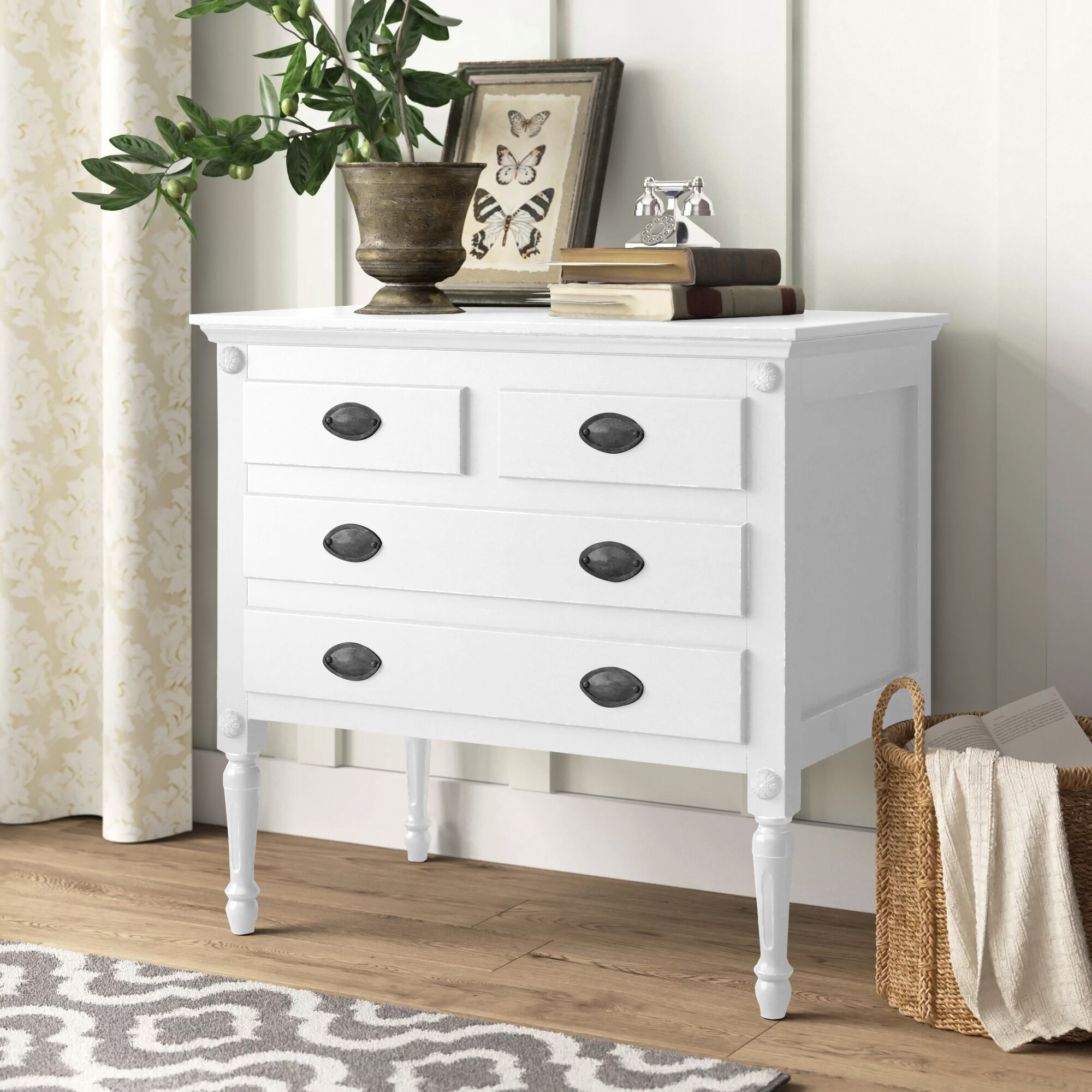 Easterbrook 4 Drawer Accent Chest Reviews Birch Lane