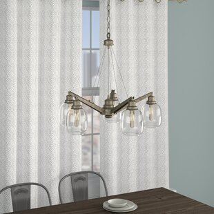 Fall River 5-Light Shaded Chandelier by Trent Austin Design