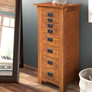 Loon Peak Arango Jewelry Armoire with Mirror