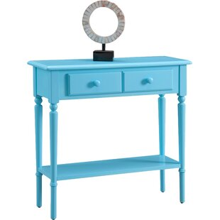 Ordinaire Aqua Console Table | Wayfair