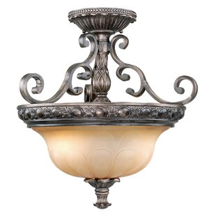 Propst Semi Flush Mount by Astoria Grand