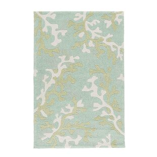 Compare prices Parkmont Blue/Ivory Rug By Rosecliff Heights