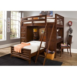 Virginia L-Shaped Bunk Bed with Desk