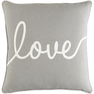 Carnell Love Cotton Throw Pillow