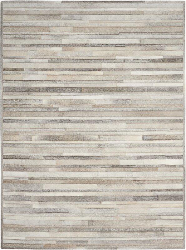 prairie handwoven arctic silver area rug