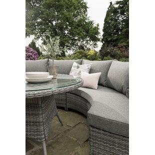 Fort Myers Garden Corner Sofa with Cushions by Lynton Garden