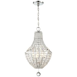 House of Hampton Needham Market 4-Light Empire Chandelier