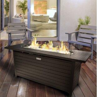Sunbeam Aluminum Propane Fire Pit Table