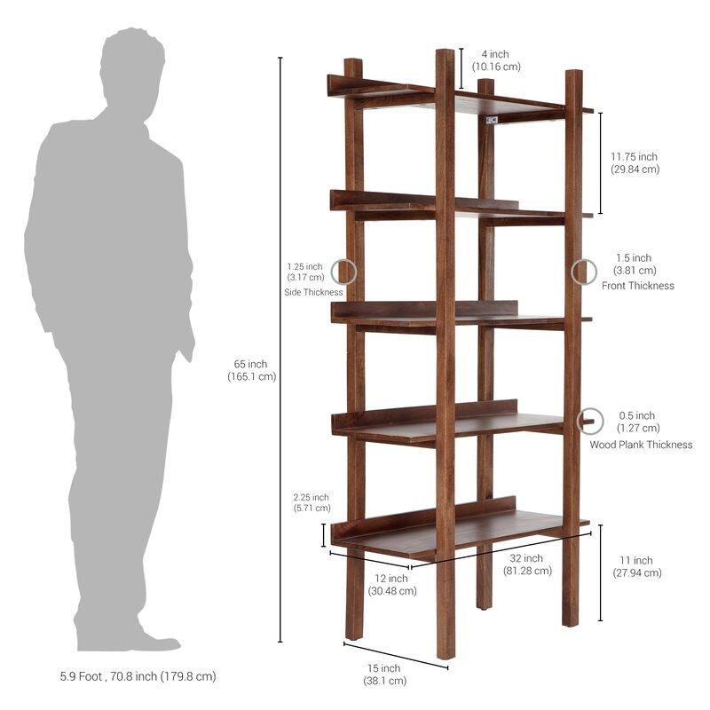 Gracie Oaks Aramazt Etagere Bookcase | Wayfair