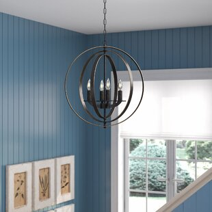 Gracie Oaks Lexington Avenue 4-Light Pendant