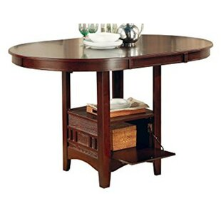Renshaw Counter Height Extendable Dining Table Winston Porter