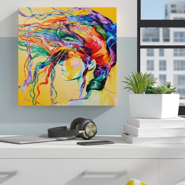 Zipcode Design 'windswept' Framed Graphic Art Print On Canvas & Reviews by Zipcode Design