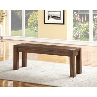 Oliveira Wood Bench by Williston Forge