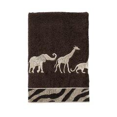 3dRoseGiraffe and African Tree Illustration Towels 15 x 22 White