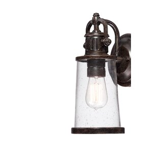 Williston Forge Orr 1-Light Outdoor Wall Lantern