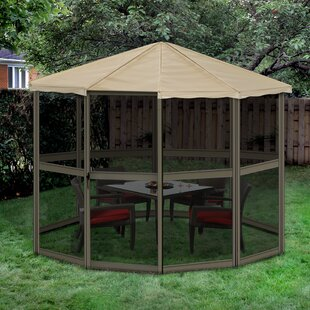 12 Ft. W x 12 Ft. D Aluminum Patio Gazebo by Gazebo Penguin