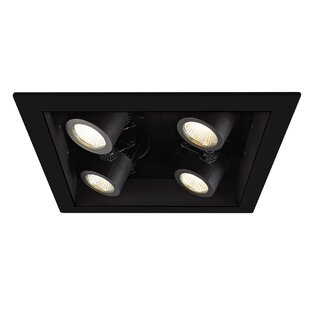 WAC Lighting Precision LED Multi-Spotlight Recessed Lighting Kit