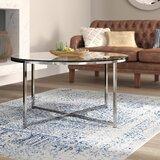 Wasser Cross Legs Coffee Table by Mistana™