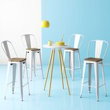 Chelsea Bar & Counter Stool (Set of 4) by Hashtag Home