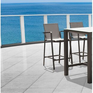 Jarry 28'' Patio Bar Stool (Set of 16)