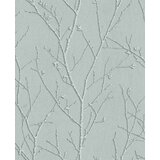 Haymarket Sprig 33' L x 20.5 W Metallic Wallpaper Roll by Graham & Brown