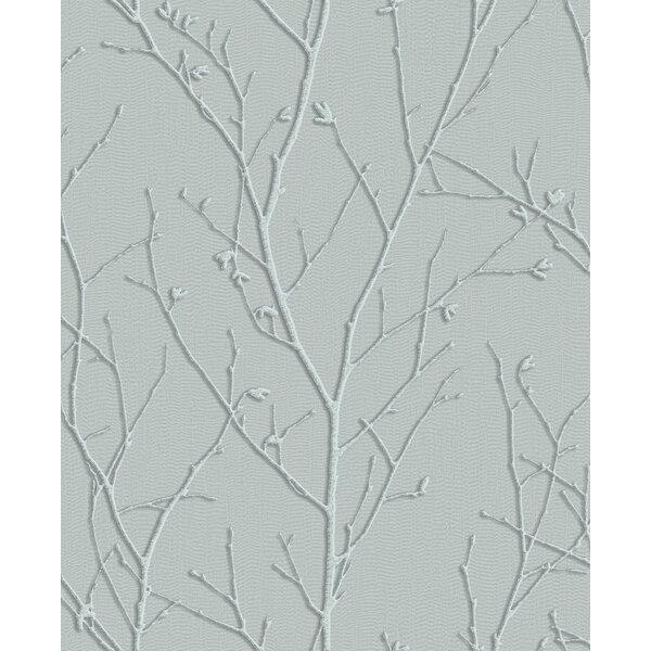 Photo Haymarket Sprig 33' L x 20.5 W Metallic Wallpaper Roll byGraham & Brown