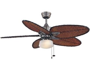 fan brushed com kit ceiling nickel hunter large dp newsome amazon light with