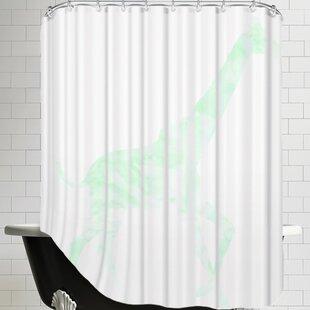 Excellent Mint Green Shower Curtain | Wayfair DX99