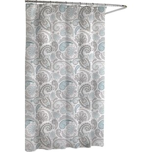 Paisley Cotton Single Shower Curtain