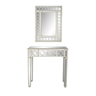 Baypoint Modern Vanity with Mirror by House of Hampton