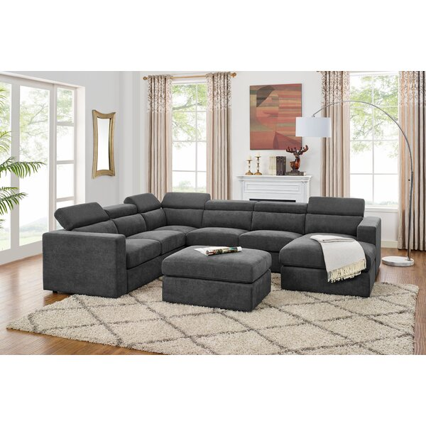 Astonishing 7 Seater Sectional Wayfair Uwap Interior Chair Design Uwaporg