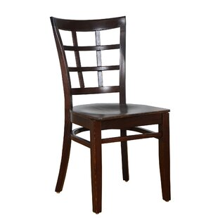 August Grove Harner Solid Wood Dining Chair (Set of 2)
