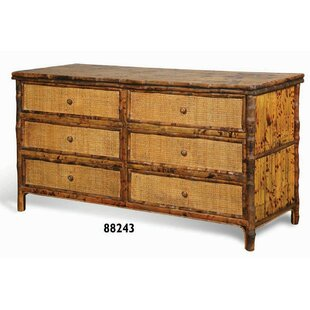 Coastal Chic 6 Drawer Double Dresser