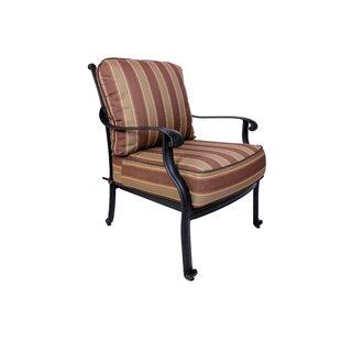 Islais Patio Chair with Sunbrella Cushions by Darby Home Co