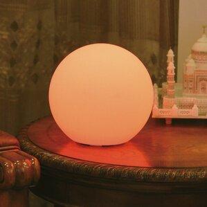 Elegant Indoor/Outdoor Full Moon Table Lamp