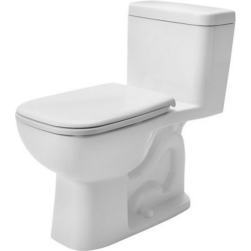 Duravit D Code 1 28 Gpf Elongated One Piece Toilet Seat Not Included Perigold