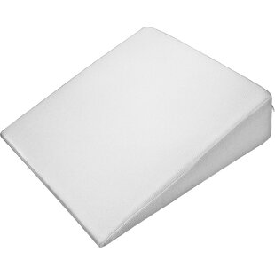 Wedge Memory Foam Pillow with Cotton Cover