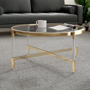 Clear Acrylic Coffee Tables Allmodern