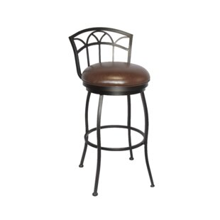 Bentham 26 Swivel Bar Stool Winston Porter